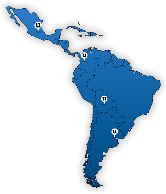Sedes latinoam&eacute;rica